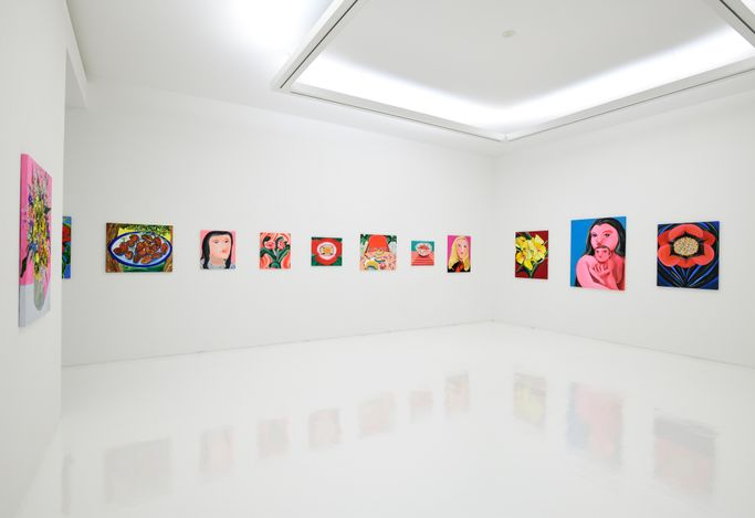 Exhibition view: Aki Kondo, The Happiness that Exists Here, ShugoArts, Tokyo (13 March–10 April 2021). Courtesy ShugoArts.