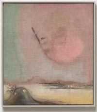 Pink Hair by Leiko Ikemura contemporary artwork painting