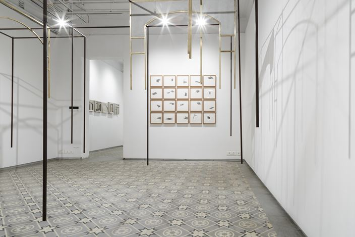 Exhibition view: Rathin Barman, The Thinking Forest Is Not A Metaphor, Experimenter, Kolkata (22 February–6 April 2019). Courtesy Experimenter.