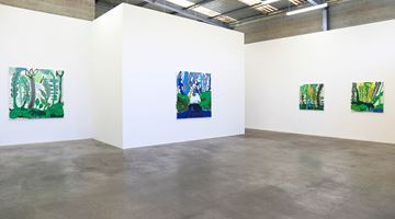 Contemporary art exhibition, John Pule, A time like no other at Jonathan Smart Gallery, Christchurch, New Zealand