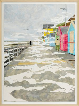 Finest Norwegian View, Sheringham by Max Prus contemporary artwork