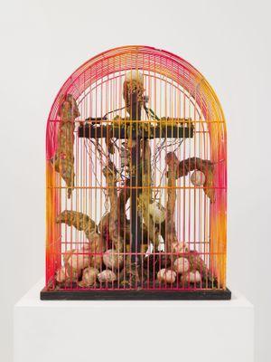 La liberté de l'étalon by Tetsumi Kudo contemporary artwork