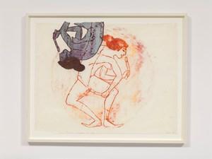 Dildo Dancer, Double Image by Nancy Spero contemporary artwork