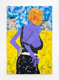 Movie Character II by Lwando Dlamini contemporary artwork painting, works on paper, drawing