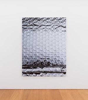 Structuring Shadows (aluminium foil faced bubble insulation) by Gimhongsok contemporary artwork