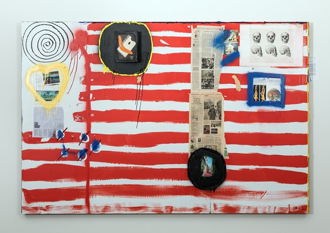 The Monthly V by Brook Andrew contemporary artwork