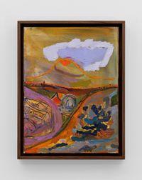 Mt Vesuvius Study I by Lisa Sanditz contemporary artwork painting