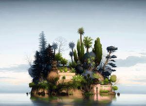 Wisdom in the garden of Eden by Alexander McKenzie contemporary artwork