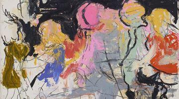 Contemporary art exhibition, Rita Ackermann, Mama '20 at Hauser & Wirth, Zurich