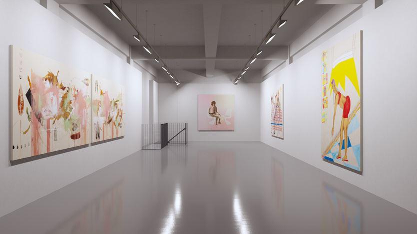 Exhibition view: Group Exhibition, 7 Up, Pilar Corrias, London (3 June–29 June 2020). Courtesy Pilar Corrias Gallery.