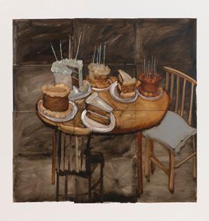 Untitled (Cake) by Kim Dingle contemporary artwork
