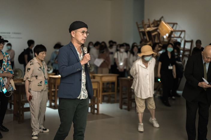 Exhibition view: Group exhibition, Between Earth and the Sky: The Spiritual State of Our Times, Taipei Fine Arts Museum, Taipei (1 August–18 October 2020). Courtesy Taipei Fine Arts Museum.