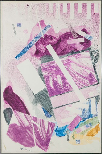 Plum Nellie, Ready Renee by Robert Reed contemporary artwork