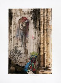 Anacoana/Erzulie by Ernest Pignon-Ernest contemporary artwork works on paper, photography