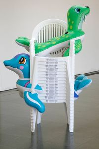 Seal Walrus (Chairs) by Jeff Koons contemporary artwork sculpture