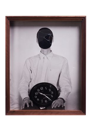 People who embrace time by Cai Dongdong contemporary artwork