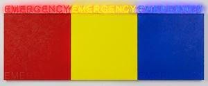EMERGENCY (RED, YELLOW, BLUE) by Deborah Kass contemporary artwork