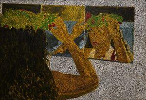 Untitled (TDHFTC) by Daniel Boyd contemporary artwork