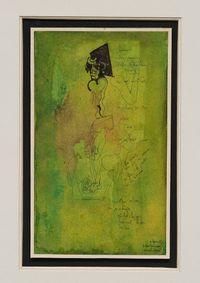 Spavento (Fright) by Octav Grigorescu contemporary artwork painting, mixed media
