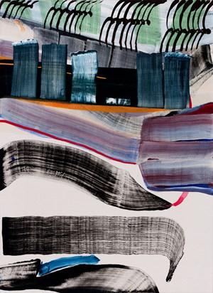 El Morro by Juan Uslé contemporary artwork