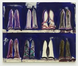 Shoe Shelves V by Midori Sato contemporary artwork