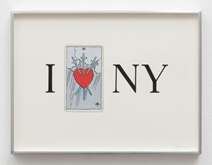 I Heart NY by Linda Stark contemporary artwork