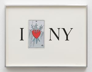 I Heart NY by Linda Stark contemporary artwork