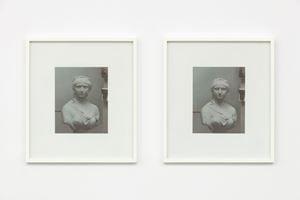 Sculpture 1, Sculpture 2 by Andrew Grassie contemporary artwork