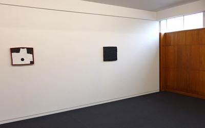 Image: Exhibition view, Jake Walker, The Suggested Things, 2016. Courtesy Hamish McKay Gallery, Wellington.