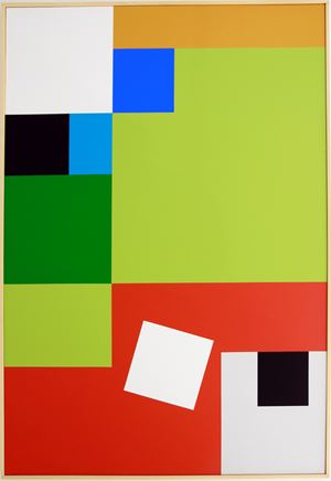 carré blanc by Youri Jeltov contemporary artwork