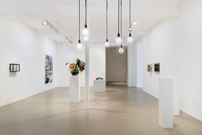 Exhibition view: Group Exhibition, Scènes dans une bulle de cristal — Seen in a crystal ball, Galerie Chantal Crousel, Paris(25 January—29 February 2020). Courtesy theartists and Galerie Chantal Crousel, Paris. Photo:Martin Argyroglo.