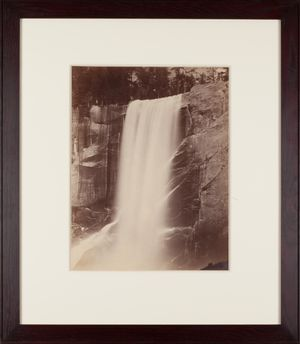 Piwyac, Vernal Fall, 350 ft by Carleton E. Watkins contemporary artwork