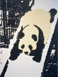Panda slide by Rob Pruitt contemporary artwork works on paper