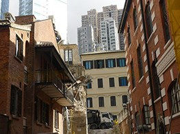 Mid-renovation collapse of future arts hub in Hong Kong