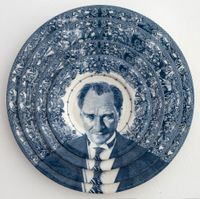Gastric Icon IV, Turkey Ataturk by Carlos Aires contemporary artwork sculpture