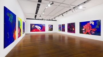 Contemporary art exhibition, Tom Polo, linger at Roslyn Oxley9 Gallery, Sydney