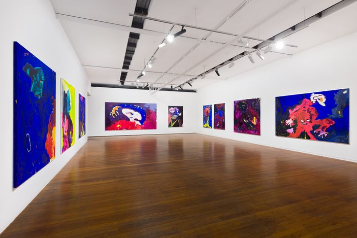 installation view, Tom Polo: linger, Roslyn Oxley9 Gallery, Sydney (9 April – 8 May 2021). photo: Luis Power
