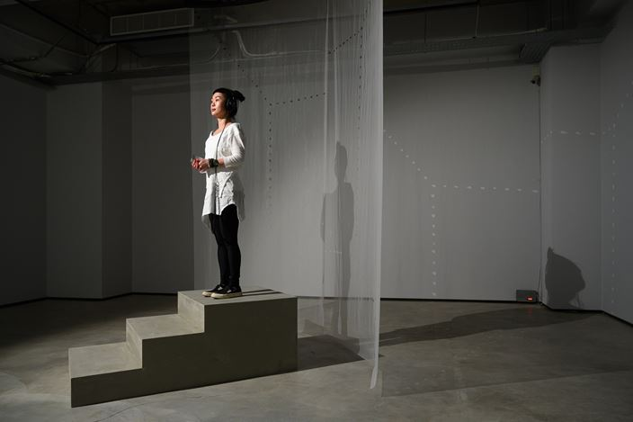 Exhibition view: Jam Wu, Through the Walls, TKG+ Projects, Taipei (6 March–8 May 2021). Courtesy TKG+ Projects.