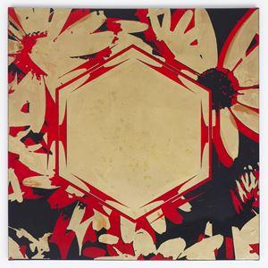 Les Fleurs du Mal 1315 by Kendell Geers contemporary artwork