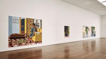 Contemporary art exhibition, Njideka Akunyili Crosby, Portals at Victoria Miro, London
