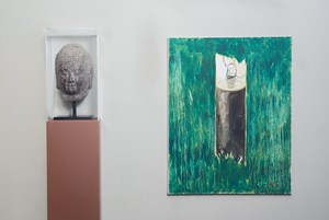 Installation view by Zhang Enli contemporary artwork
