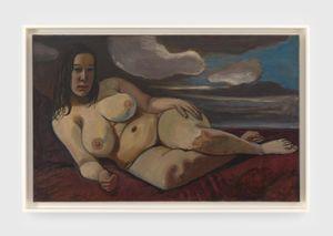 Sue Seely, Nude by Alice Neel contemporary artwork