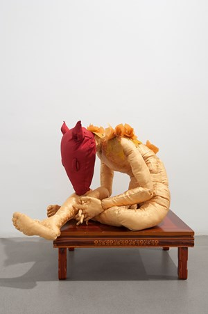 Gosa (Comet boy as an offering) by Timothy Hyunsoo Lee contemporary artwork