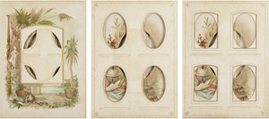 Every even page from a nineteenth century photo album #13-15 by Izabela Pluta contemporary artwork