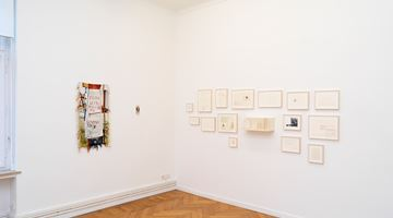 Contemporary art exhibition, Group Show, der grosse Anspruch des kleinen Bildes at Barbara Wien, Berlin