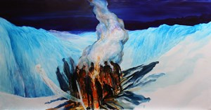 Fire and Ice by John Walsh contemporary artwork