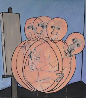 Self Portrait (自画像) by Wu Chen contemporary artwork
