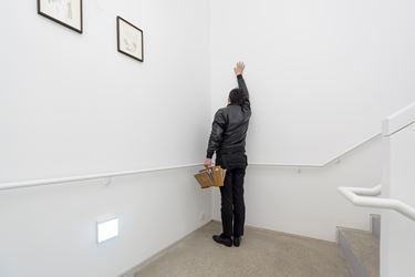 Exhibition view of Hyunjin Bek solo exhibition at PKM Gallery, 2016. Courtesy of the artist and PKM Gallery. Photographed by Jeon Byung Cheol.