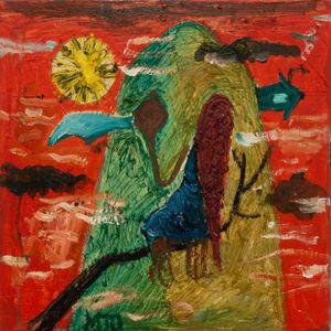 Bird of Bataan 3 by Manuel Ocampo contemporary artwork