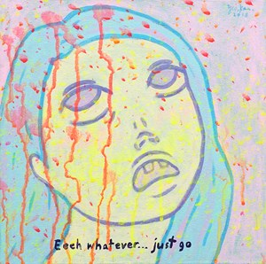 EEEH WHATEVER... JUST GO by Yeo Kaa contemporary artwork